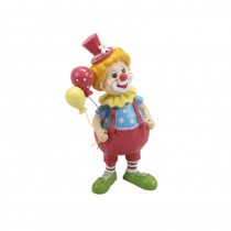 FIGURINE CLOWN MULTICOLORE 9CM