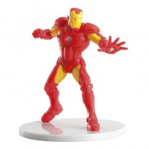 figurine décoration gâteau d'anniversaire iron man avengers