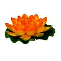 FLEUR DECORATIVE LOTUS ORANGE