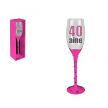 FLUTE CHAMPAGNE 40 AINE ROSE