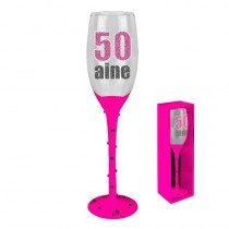 FLUTE CHAMPAGNE 50 AINE ROSE