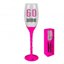 FLUTE CHAMPAGNE 60 AINE ROSE