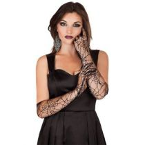 gants toile d'araignée pour halloween