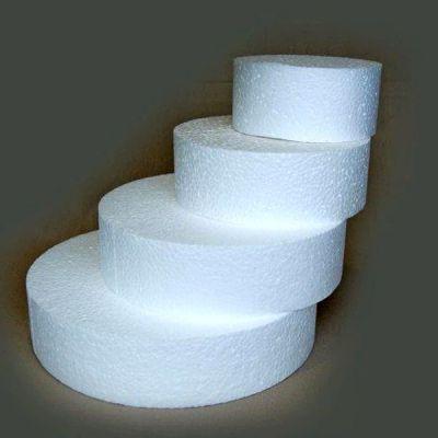 Gateau rond en polystyr ne 50 cm d co mariage pas cher for Miroir rond 50 cm pas cher