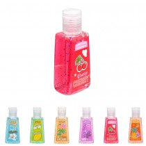 GEL MAINS NETTOYANT DÉSINFECTANT 30ML FRUITS