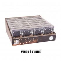 GUIRLANDE FIL ARGENT 160 LED BLANC CHAUD 405 CM