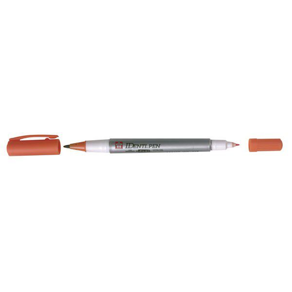 IDENTI-PEN EXTRA-FIN DBLE POINTE -ORANGE
