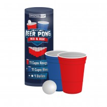 KIT BEER PONG RED&BLUE 22CUPS