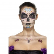 KIT MAKE-UP JOUR DES MORTS MULTICOLORE