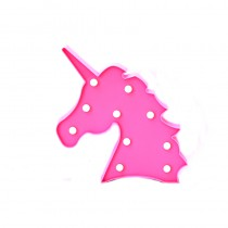 LAMPE DECORATIVE LED FORME LICORNE