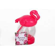 LAMPE LED FLAMANT ROSE 13,5 X 7 X 10 CM