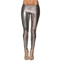 LEGGING DISCO HOLOGRAPHIQUE