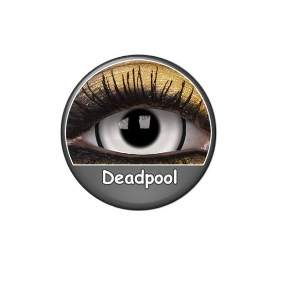 LENTILLES 1 AN FANCY DEAD POOL 17 MM