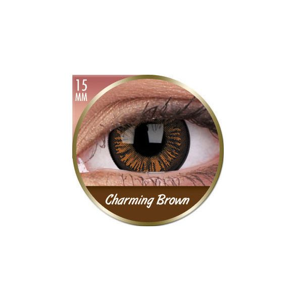 LENTILLES 3 MOIS BIG EYES CHARMING BROWN