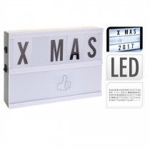 LIGHT BOX LED 21X16CM