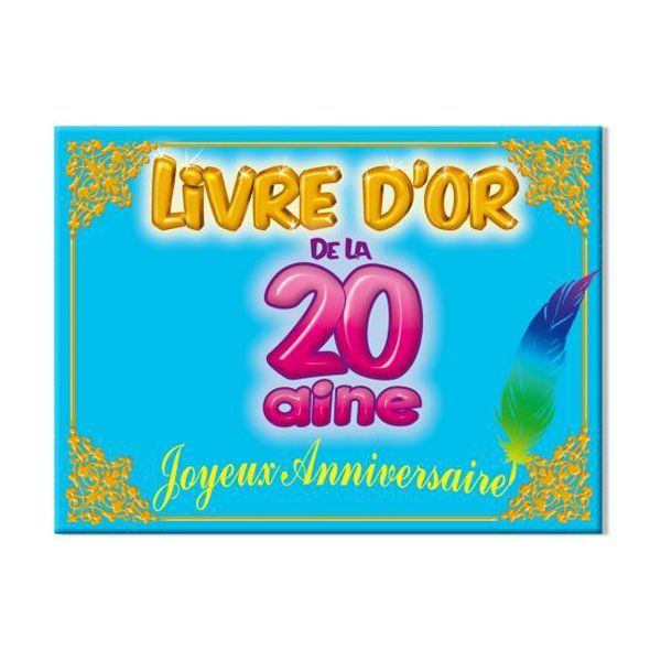 LIVRE D'OR 20 AINE
