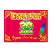 LIVRE D'OR 30 AINE