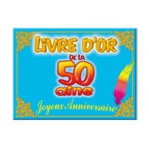 LIVRE D'OR 50 AINE