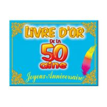 LIVRE D\'OR 50 AINE