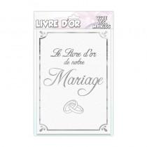 LIVRE D\'OR VIVE LES MARIÉS FORMAT A4