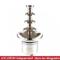 LOCATION FONTAINE A CHOCOLAT PRO GM H60