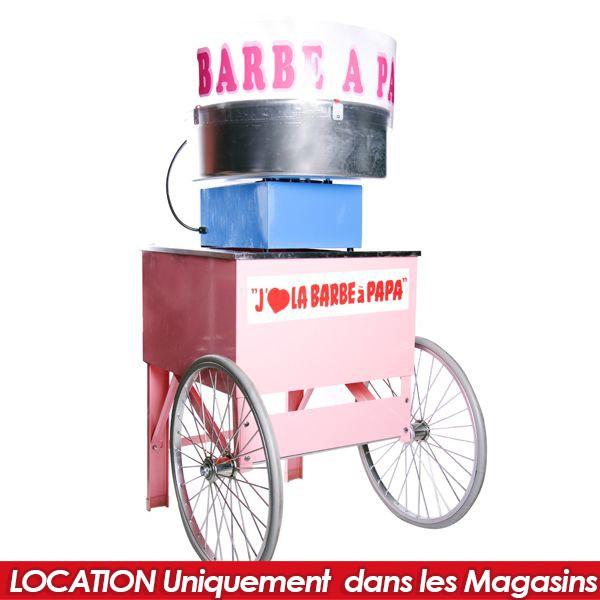 LOCATION MACHINE BARBAPAPA
