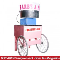 LOCATION MACHINE BARBAPAPA