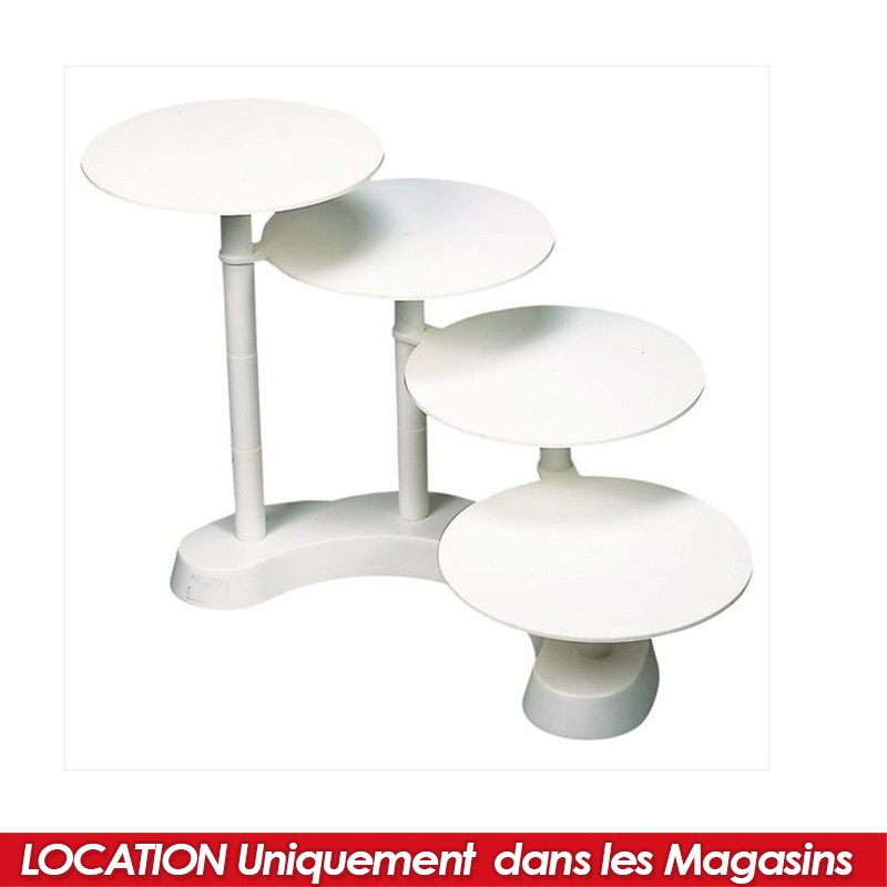 location pr sentoir plastique 4 g teaux. Black Bedroom Furniture Sets. Home Design Ideas