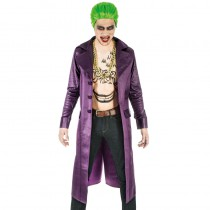 LONG MANTEAU VIOLET THE JOKER