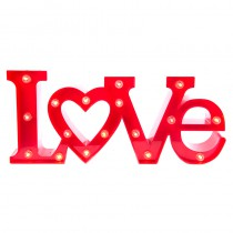 LOVE LED 40X18CM