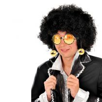 LUNETTES BOULES DISCO - OR