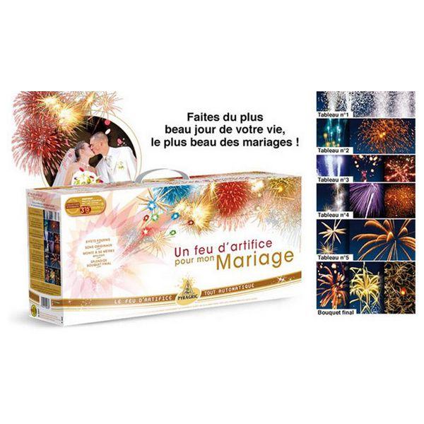 MALLETTE FEUX D\'ARTIFICE MARIAGE LUXE