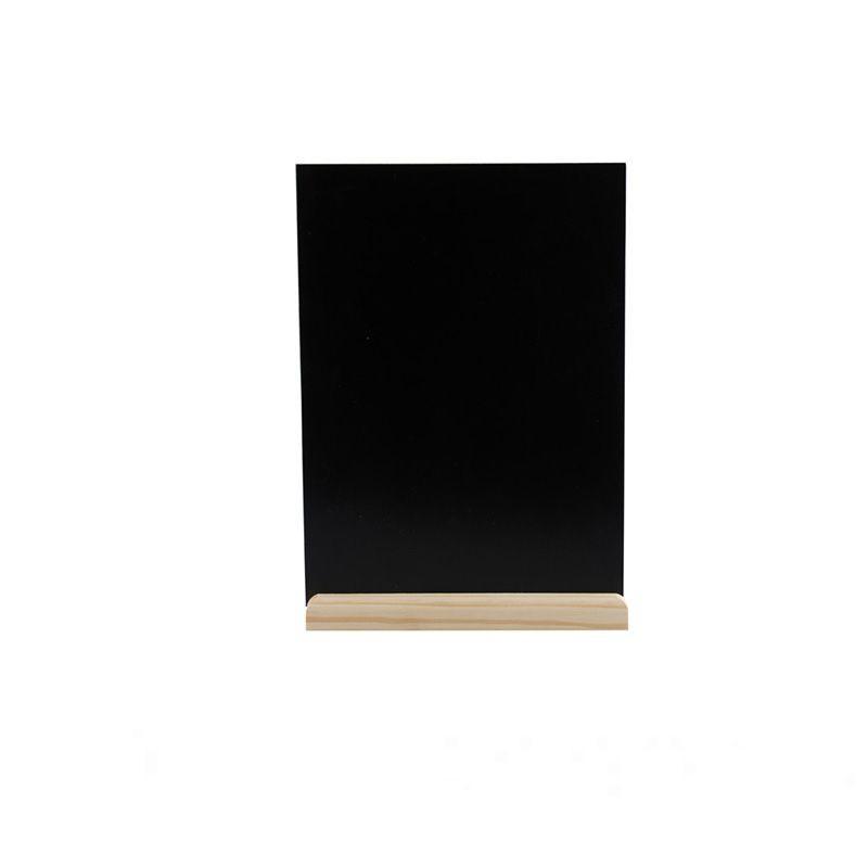 MARQUE-TABLE PIN ARDOISE 21 X 30 CM