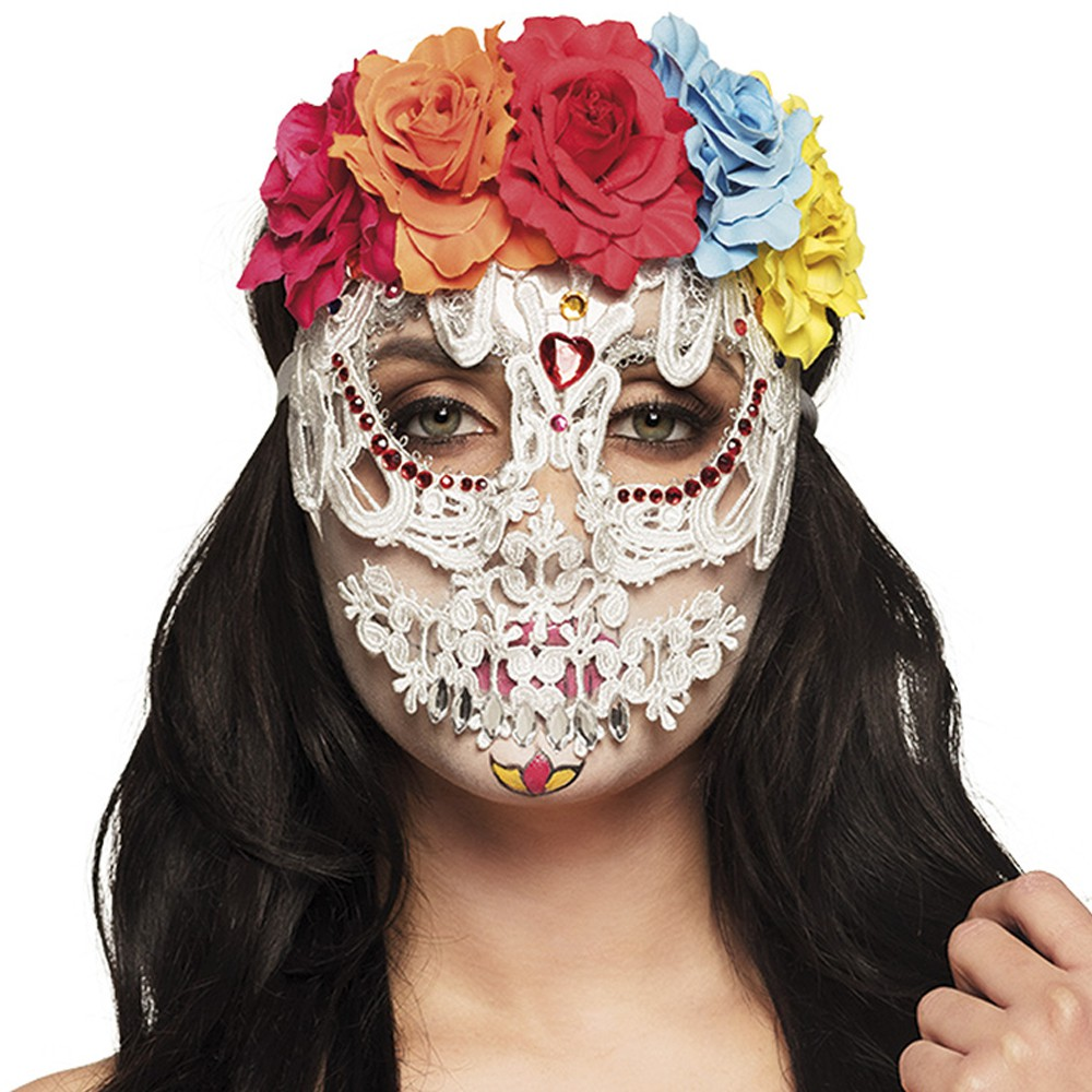 MASQUE CATRINA JOUR DES MORTS LUXE