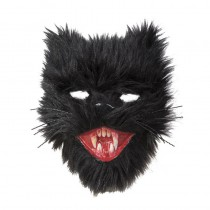 MASQUE CHAT DIABOLIQUE PELUCHE