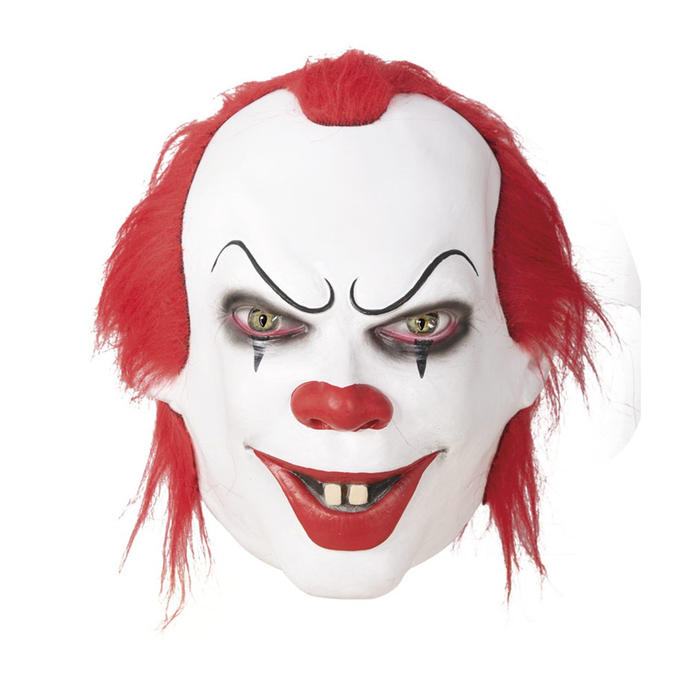 MASQUE CLOWN GRIPPE-SOU INTÉGRAL LATEX