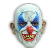MASQUE CLOWN HEUREUX LATEX ADULTE