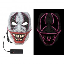 MASQUE CLOWN HORREUR LED