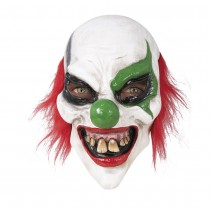 MASQUE CLOWN HORRIBLE INTÉGRAL LATEX