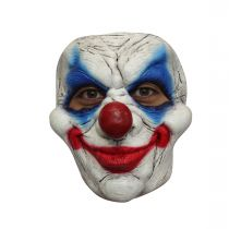 MASQUE CLOWN LATEX ADULTE