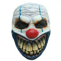 MASQUE CLOWN REDOUTABLE LATEX ADULTE