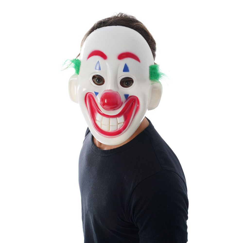 MASQUE CLOWN RIGOLO PLASTIQUE