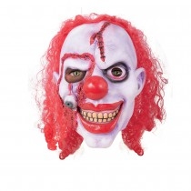 MASQUE CLOWN ZOMBIE INTÉGRAL LATEX