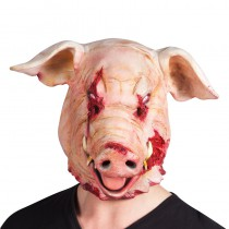 MASQUE COCHON SANGLANT LATEX