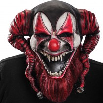 MASQUE DEMON CLOWN AVEC BARBE