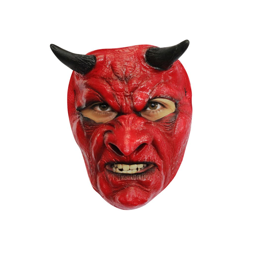 MASQUE DIABLE MALVEILLANT LATEX ADULTE