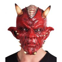 Masque diable latex