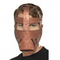 MASQUE GLADIATEUR ROMAIN BRONZE