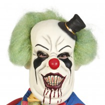 MASQUE GROS CLOWN SANGLANT LATEX