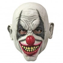 MASQUE INTÉGRAL CLOWN MÉCHANT LATEX